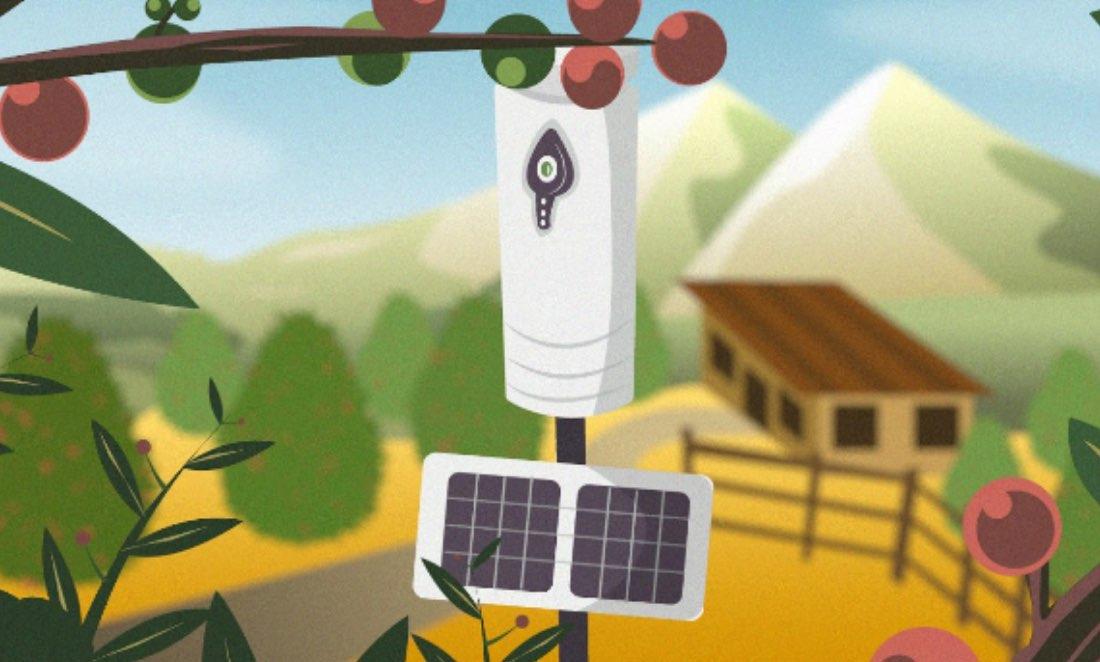 """Solar Powered, Connected Camera, and Sensors"